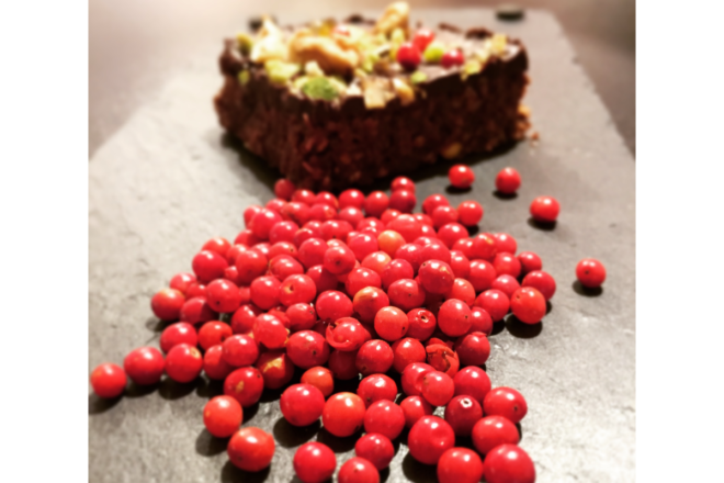 Chocoroc aux baies roses (60g)