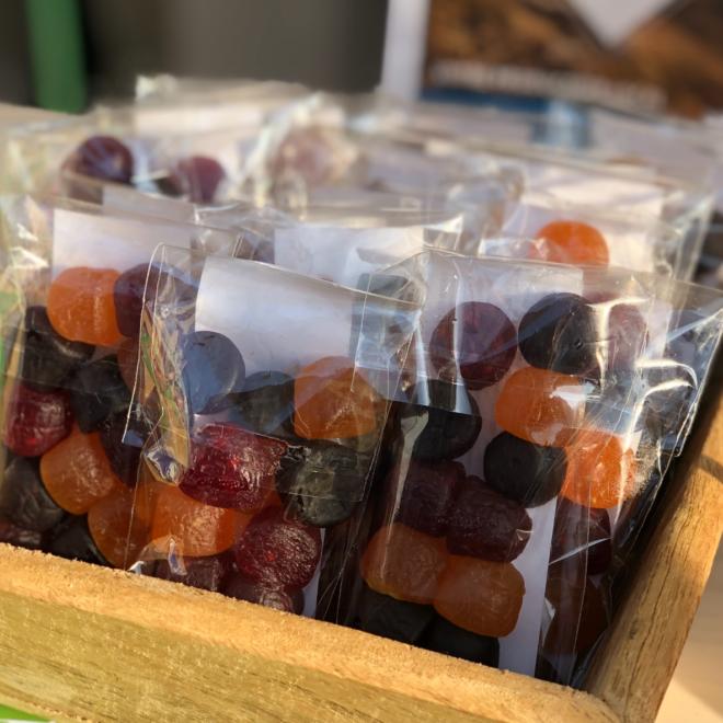 Pâtes de fruits en pastille 50g