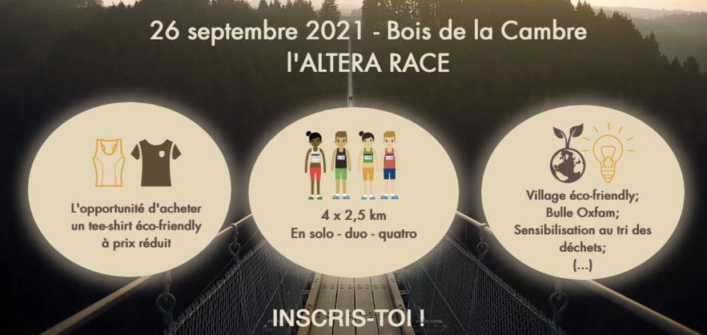 wild and run altera race we are eiva bois de la cambre 26 septembre